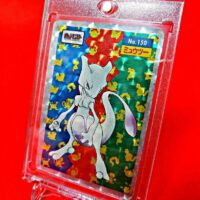 Top Sun Pokemon Card Mewtwo Kira Card Carddass from Japan Toys hobbies and goods