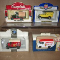 toys and hobbies 4 unopened Old Model Diecast Trucks made in England