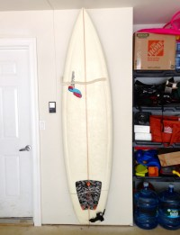 how to make a surfboard rack  Surfboard Wall Mount