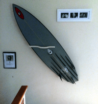 Pro Surfboard Wall Mount, With Multiple Display Options