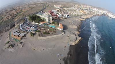 Dorfansicht vom Hotel Medano bis SURF CENTER
