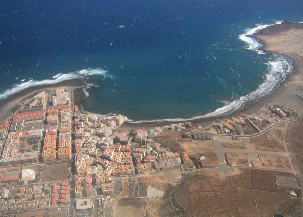 El Médano Bay, Tenerife Sur