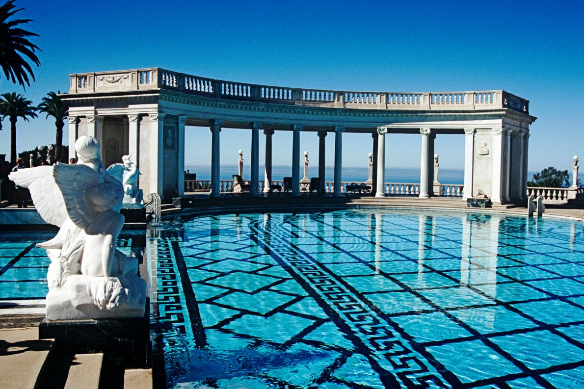 hearst castle calif swimming pool