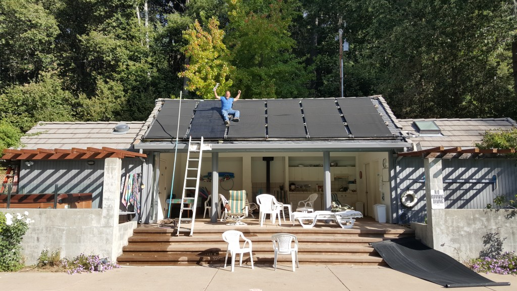 Surf City Pool Spa and Solar Capitola solar panels installation