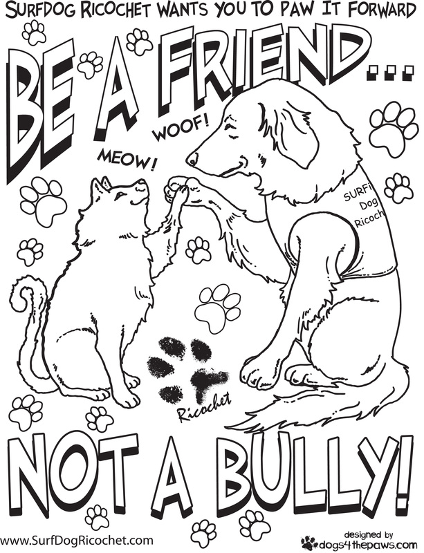 Surf dogs Anti-Bullying Campaign