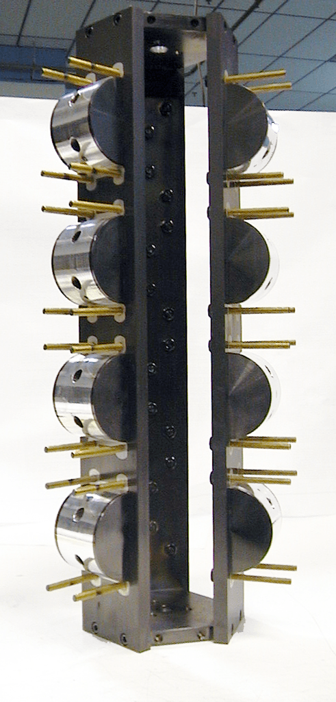 Photo of Rod Cap Fixture treated by Surface Engineering Technologies LLC