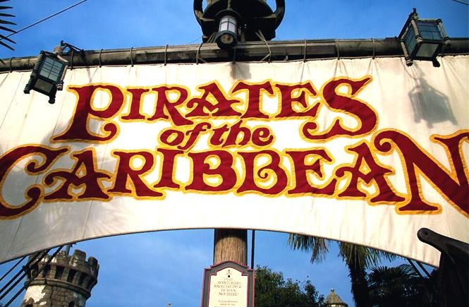A atração Os Piratas das Caraíbas na Disneyland Paris (photo: Eric RiItchey)