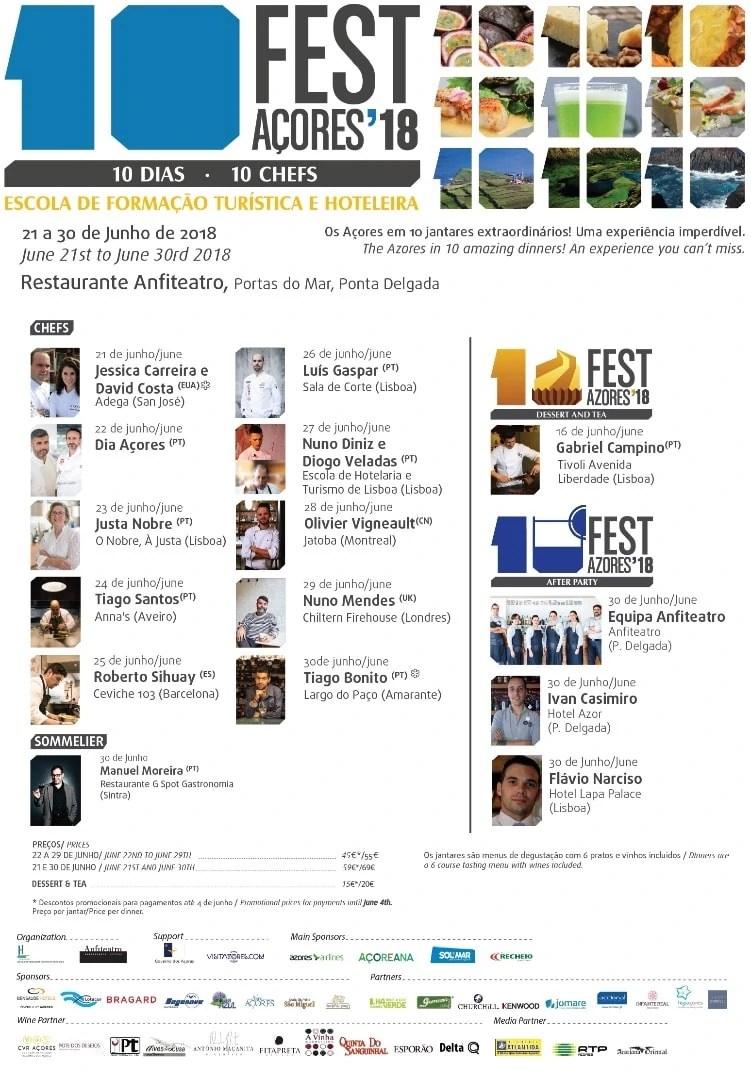 Programa 10 Fest Açores