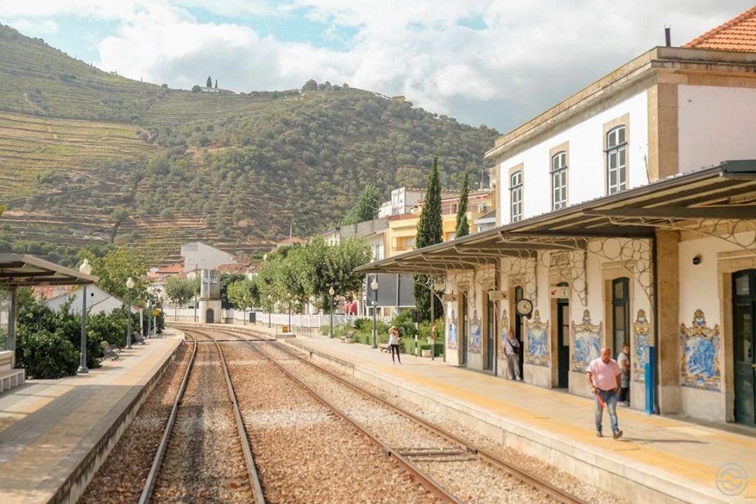 Comboio Histórico do Douro Estação Pinhão