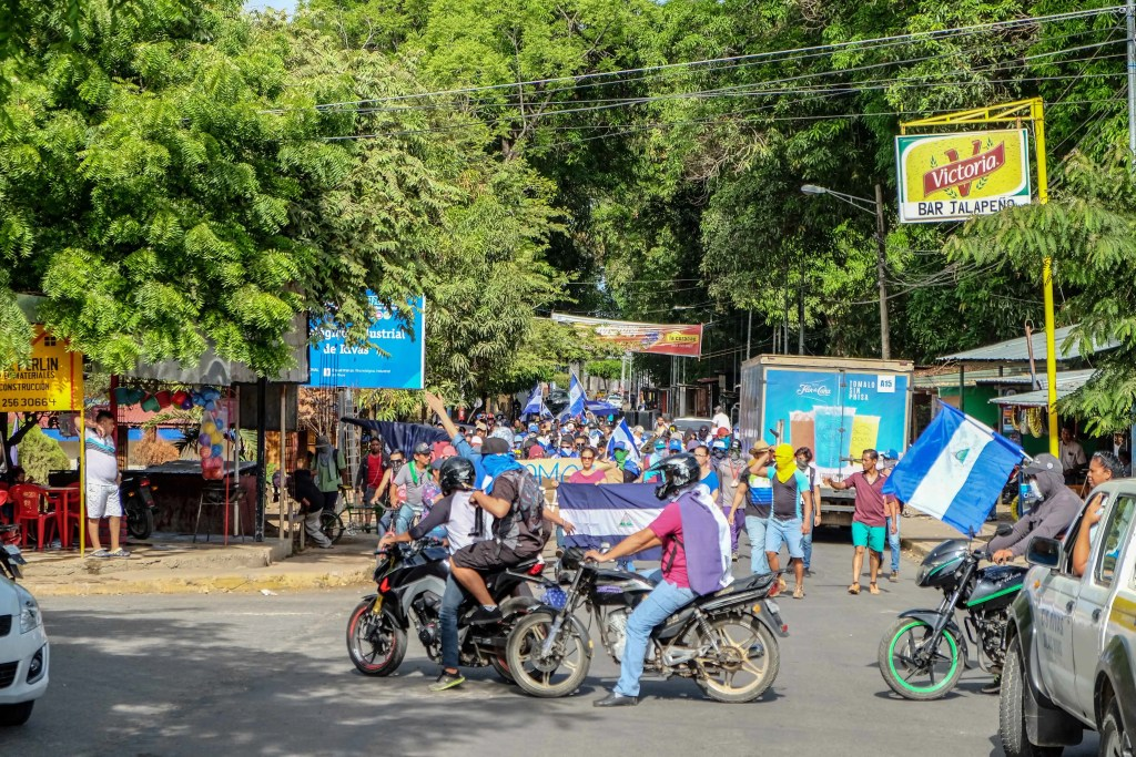 Manifestações na Nicaragua