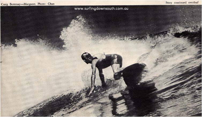 1971 Craig Bettenay 4 8 twin fin Marg Country Surf Mag copy