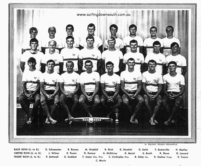 1964 Yalls Board Club - A Orloff Studio Frem  picA