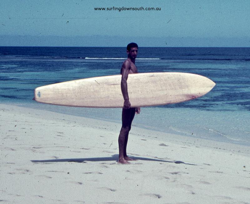 1957 Yalls Bernie Huddle & board - JB pic img600