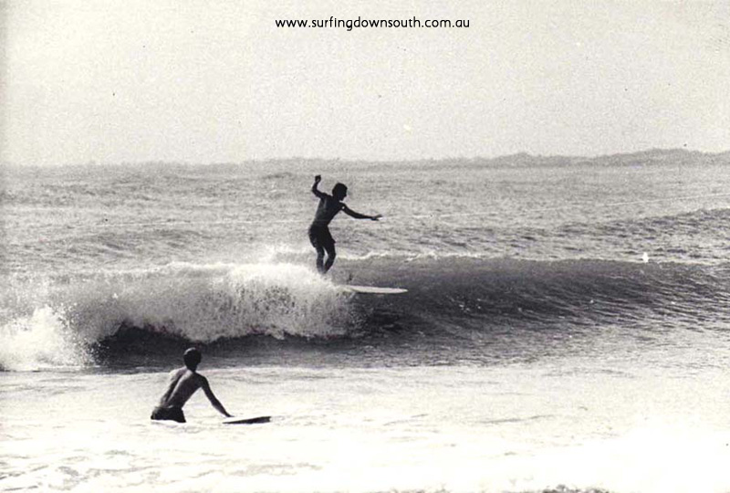 1967 Miami Bay surfing - Jim King
