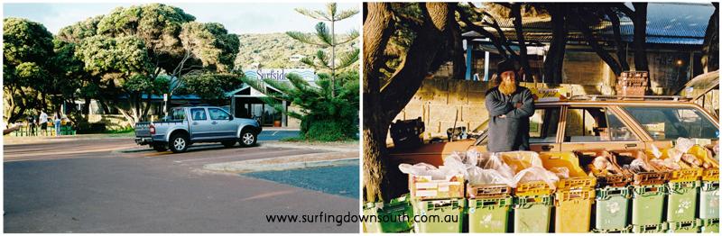 2006 Yalls Surfside Wombat fruit seller IMG_001a