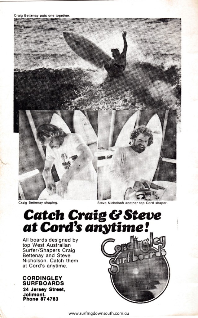 1976 WASRA Spring Titles Program Cordingley Surfboards advt IMG_02