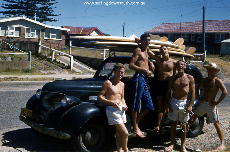 1960 NSW Nth Narabeen 1934 straight 8 Studybaker Speedy, Bernie, Arty Taylor, Phil Mostyn & Cocko Killen - Brian Cole Pic img156