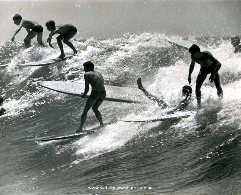 1961 NSW Dee Why Pt 'mayhem' Brian Cole on right - Ron Perrott pic - B Cole img695