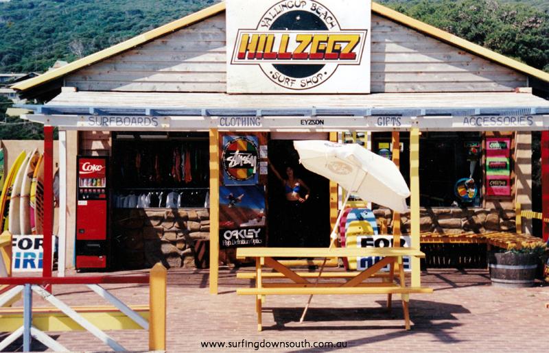 1990 Hillzeez Yalls Beach Surf Shop - Tania Hills pic IMG_01