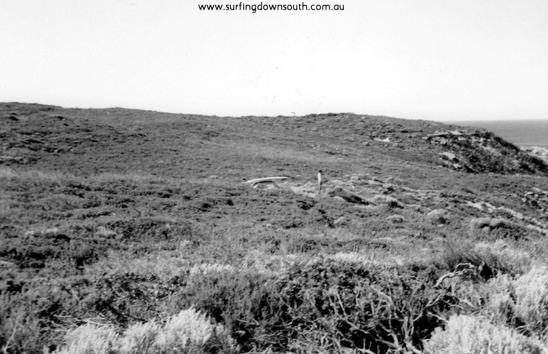 1966 back of Cowaramup Looking For Waves E Considine