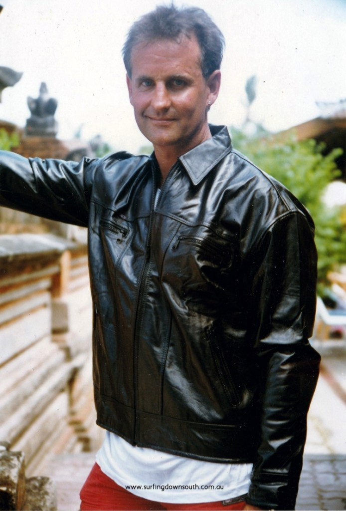 1970 Bali Paul Mienk modelling leather jacket IMG_0410