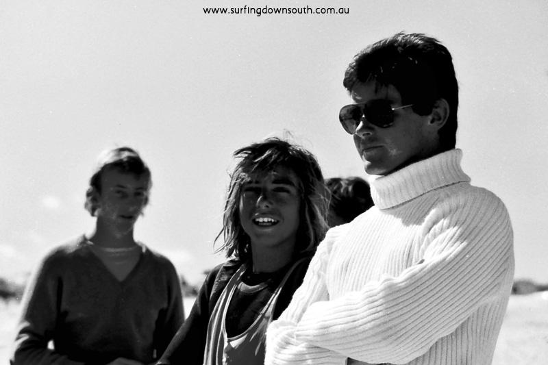 1977 Trigg Hang Ten WASRA School Boys Surfing Championships Colin Earle & Steve Hannett - Ric Chan 009