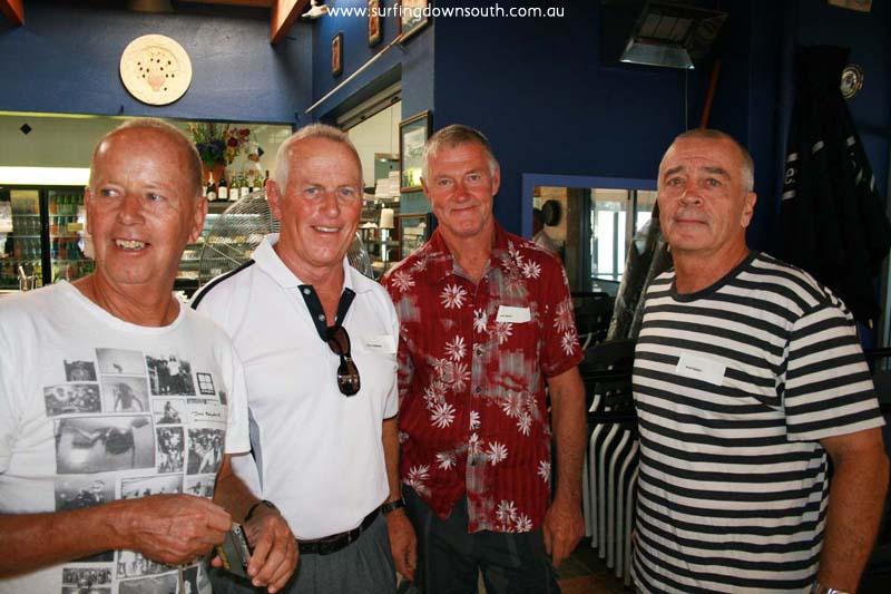 2009 Reunion J Balgarnie, D Cummins, J Doig & Geoff Berry - Bruce King