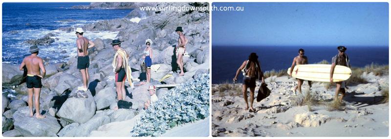 1960s cape naturaliste Terry Williams pics collage_photocat