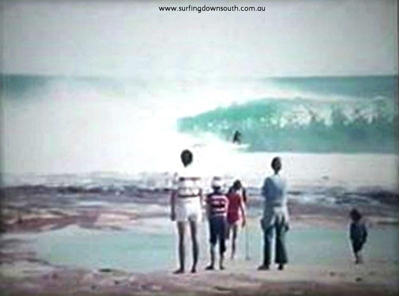 1974 Jacques Pt Kalbarri Craig Howe surfing