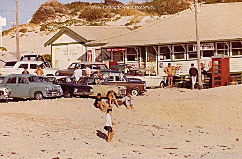 1966 City Beach Tea Rooms - Trevor Burslem