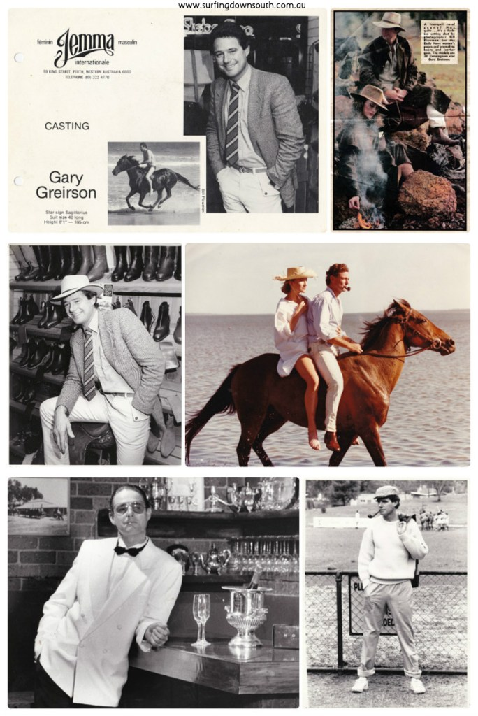 1980s Gary Greirson Modelling 1 collage_photocat