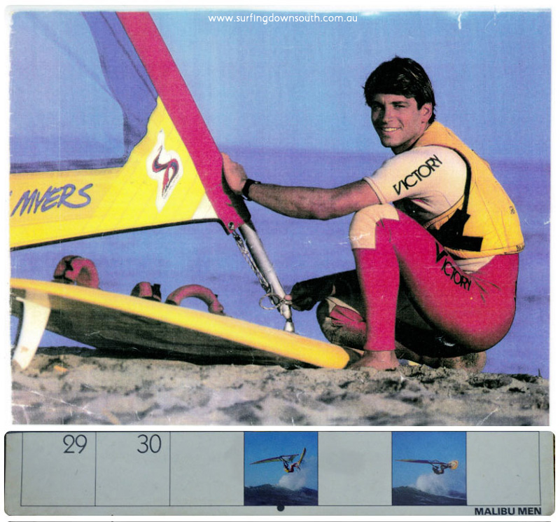 1980s Malibu Men calendar Rich Myers collage_photocat