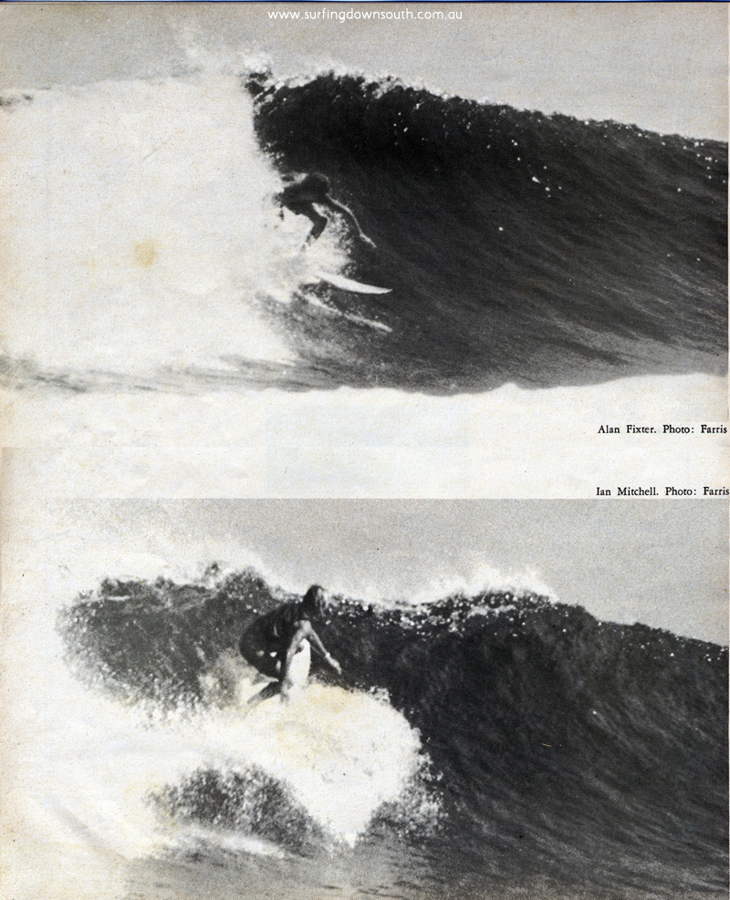 1971 Huzzawouie Al Fixter & Ian Mitchell - Country Surf Mag - Rob Farris