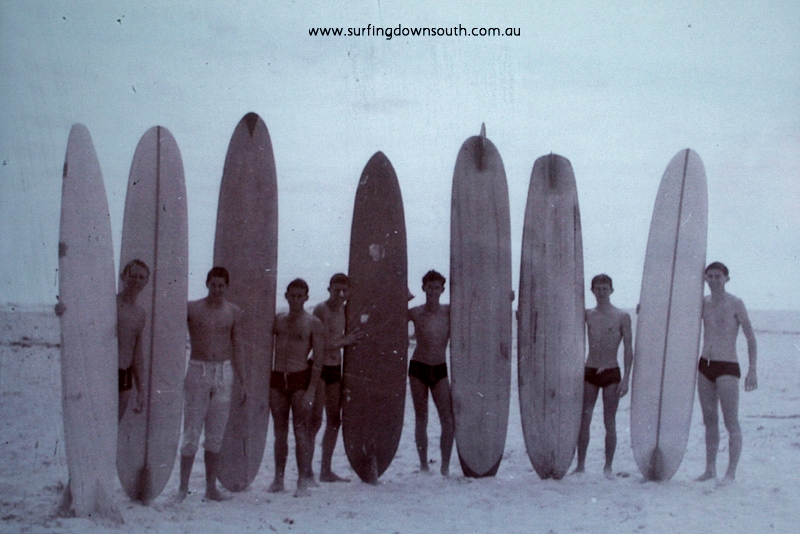 1961 North End Board Club Scarb P Longley, J McKenzie, J Breadsell, W Smith, G Culmsee, B Sales & B Hunt - J Breadsell pic