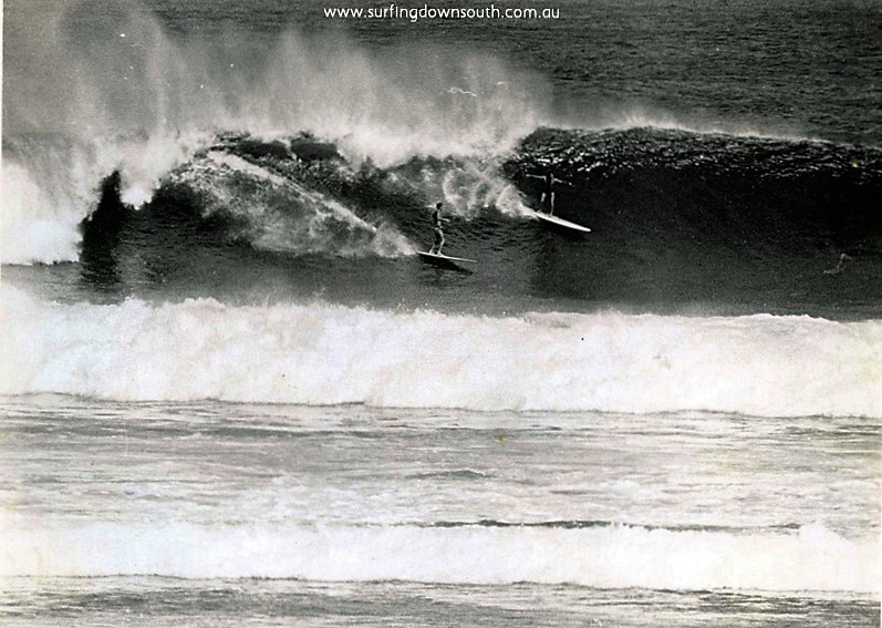 1964 Marg River Murray Smith & Jim Keenan surfing - J Keenan pic1