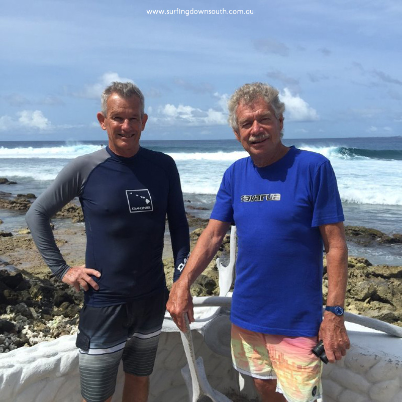 2015 Maldives Tom Blaxell and Midget farrelly at Pasta Point