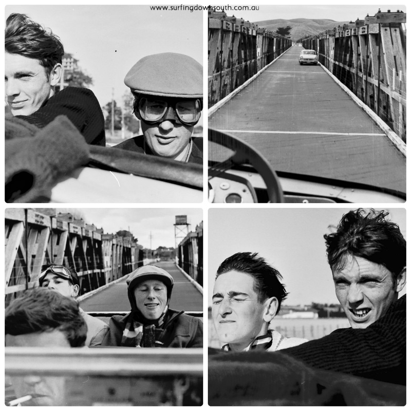 mid 60s Morguemen on tour 8 collage_photocat