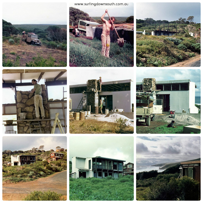 1973-75 McFarlanes residence Yallingup Hill collage_photocat