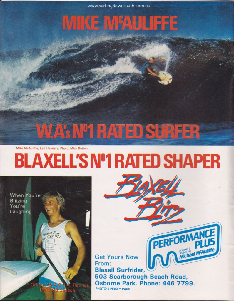 1983 Blaxell advt West Coast Wind & Surfer Mag IMG_0005