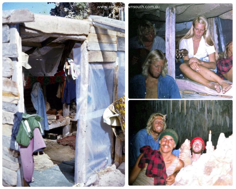 1973 Beach Shack Lefthanders 4 collage_photocat