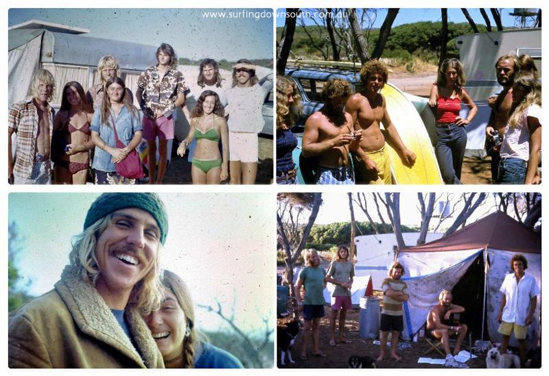 1973 Yalls Caravan Park Pat Bloomer pics collage_photocat