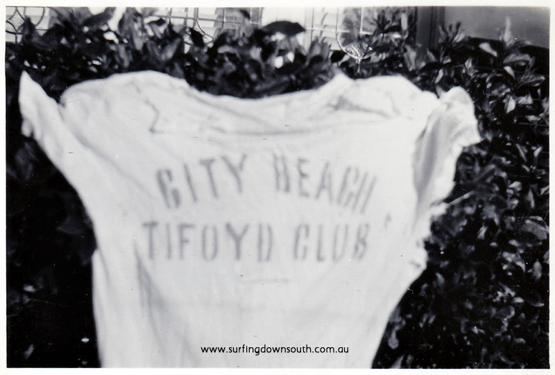 1958 City Beach Typhoid scare t-shirt by Ray Geary - Brian Cole pic IMG_06