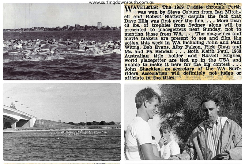 1965-69 Paddle Through Perth images 3 collage_photocat