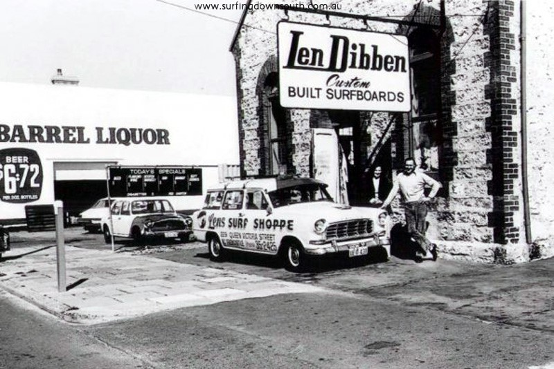 1976 Len & Wendy Dibben church shop & factory Nth Freo L Dibben Cropped pic