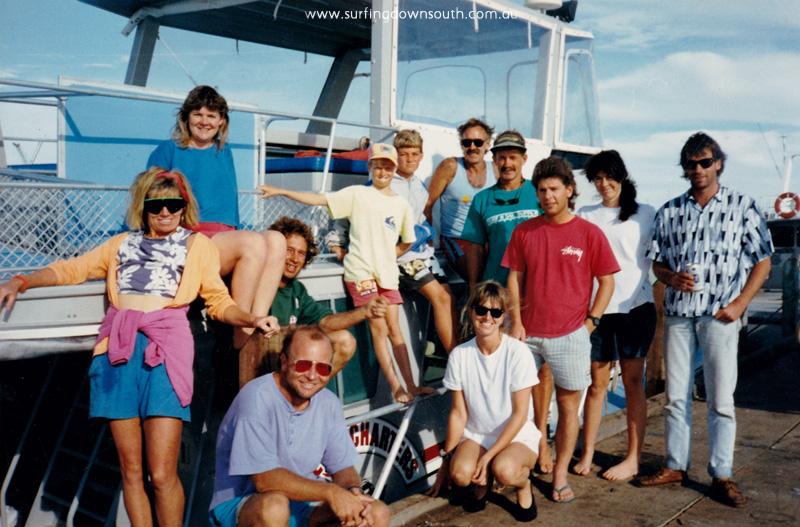 1989 Abrolhos trip Burrow, Culmsee & Redman families - Nance Burrow pic IMG_0001