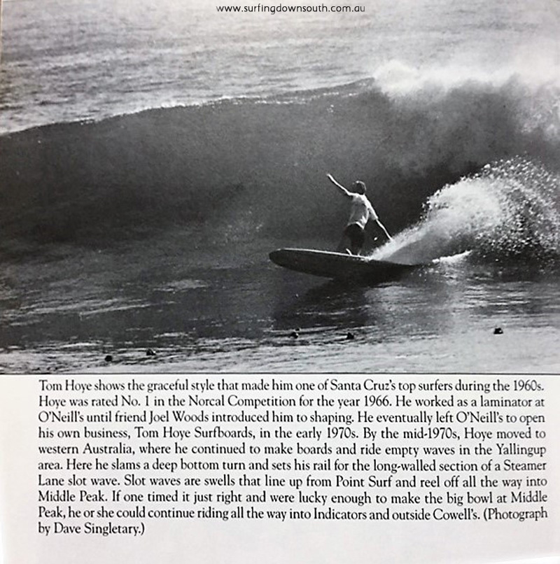 1965-66 Tom Hoye surfing Steamer Lane USA - Images of America book 2009 IMG_0497