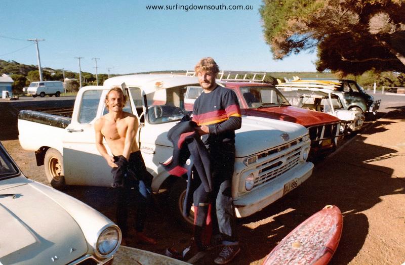 1980 Yalls car park Ray Nott & Dave Seward - Gary Gibbon pic IMG_0025