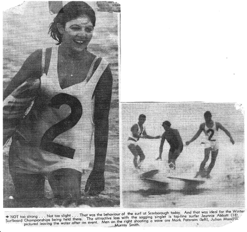 1960s Surf Trips Down South: 1960s Scarborough Beach #3 Surfing