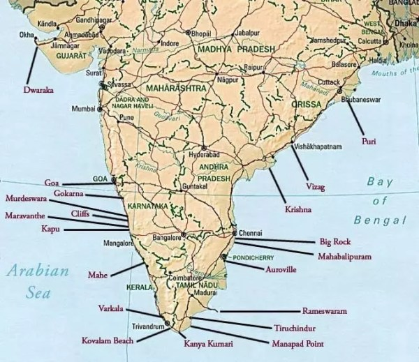 India surf spots