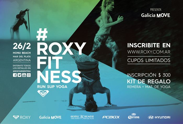 Roxy Fitness Run SUP Yoga 2017